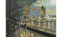 Embroidery London Tower Bridge Digitizing