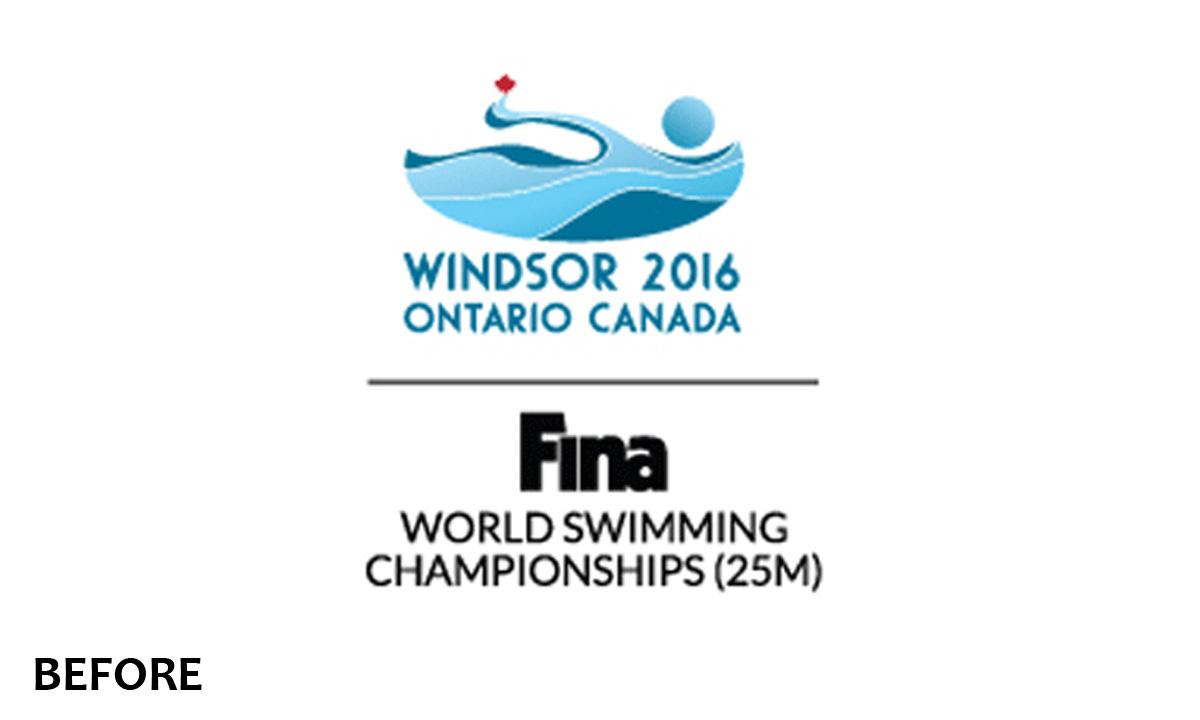 Windsor 2016 FINA Logo