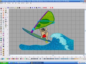 Embroidery digitizing services -WBS