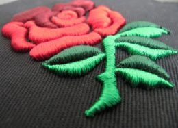 Embroidery digitizing - rose