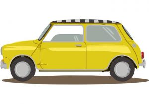 Mini-taxi-car-vector | WBS