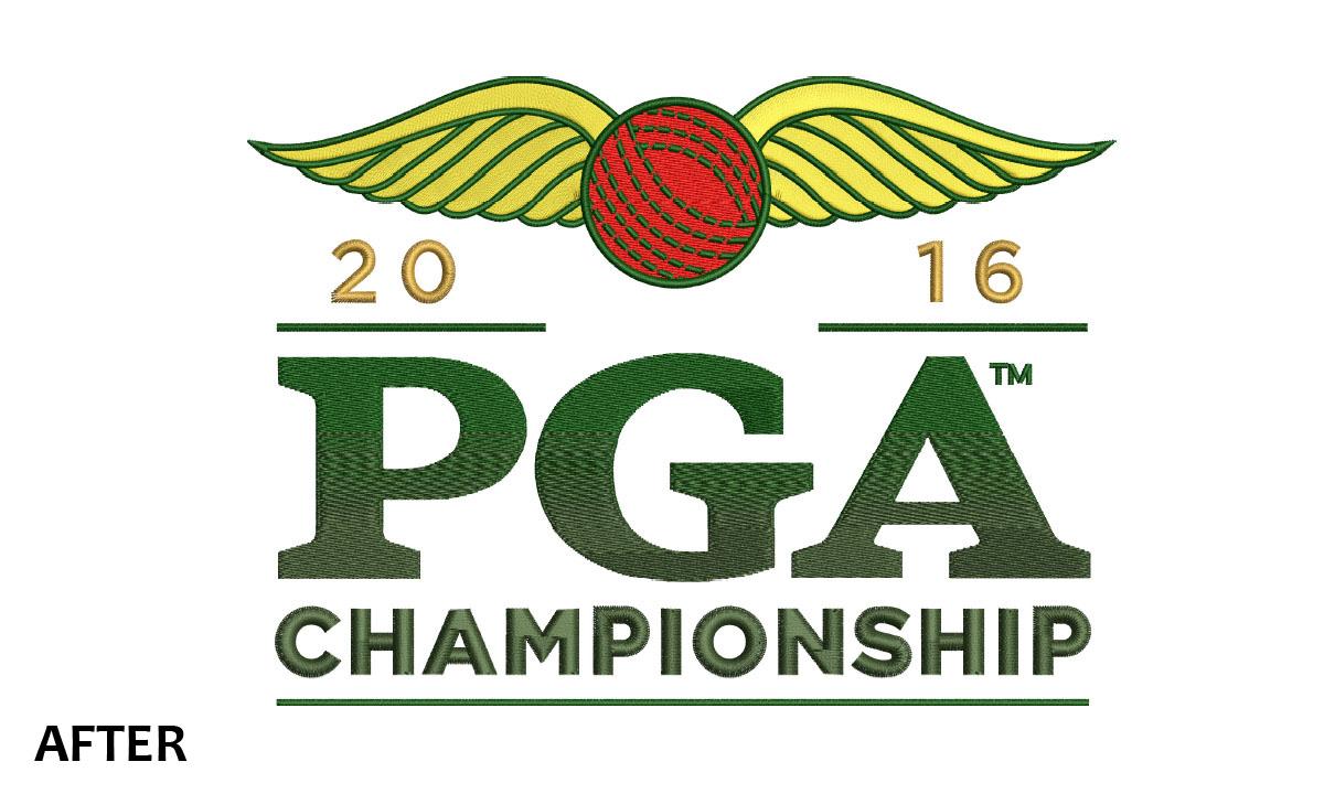 Embroidery PGA Championship 2016 Logo