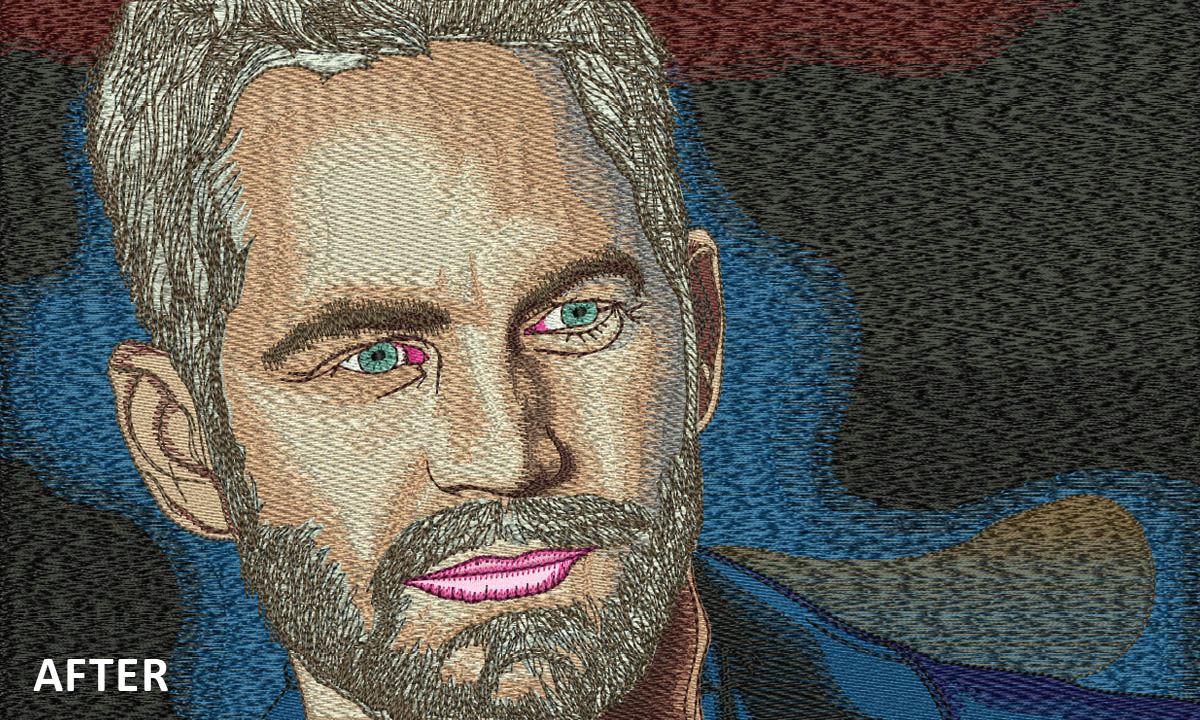 Embroidery Digitizing For Paul Walker