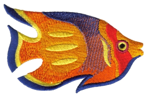 embroidery designs uk - fishing